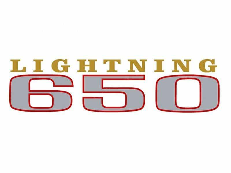 D50036 BSA A65L Lightning 650 side cover transfer 1969-70 - Classic Bike Spares