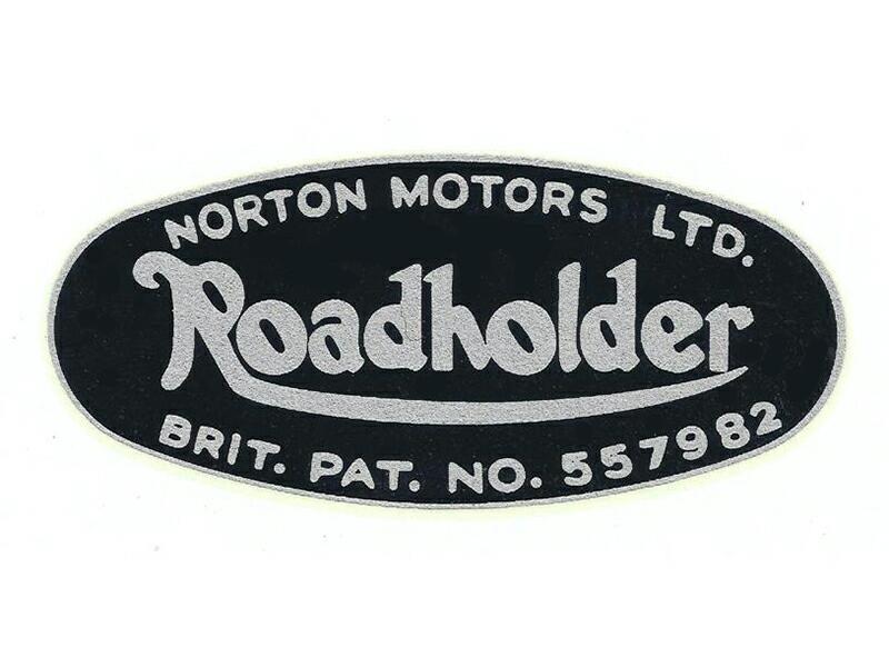 067908 Norton Motors Ltd Roadholder fork transfer - Classic Bike Spares
