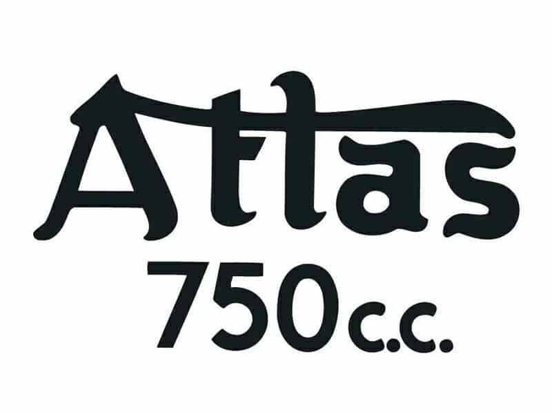D50175 Norton Atlas 750cc petrol tank top transfer - Classic Bike Spares