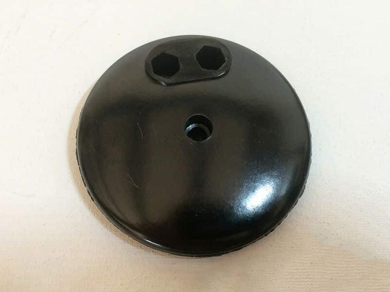 200354 E3 dynamo bakelite end cover - Classic Bike Spares