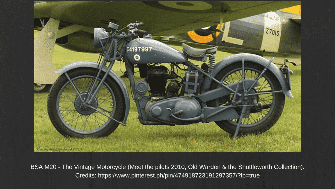 BSA M20: Top Facts On One Of The Vintage Bikes That Won The War -