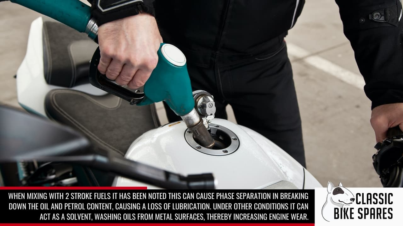ethanol fuel increases engine wear