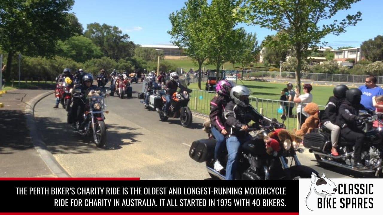 perth bikers charity ride
