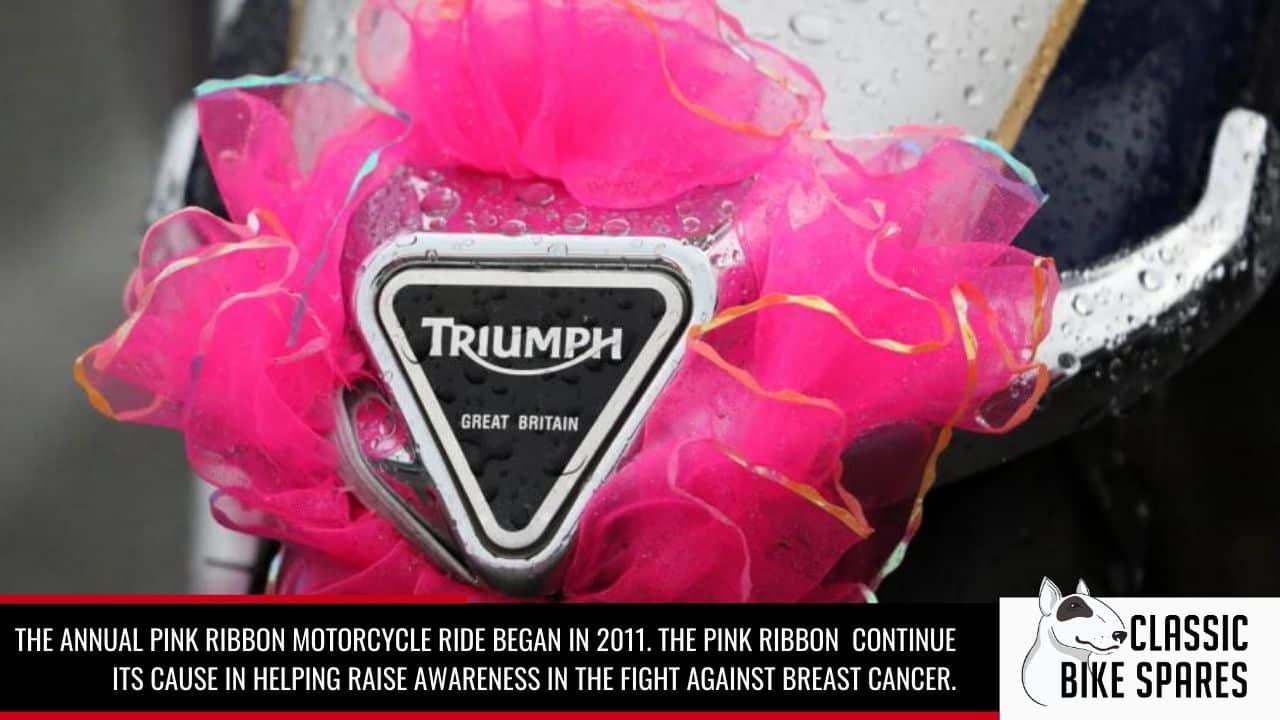 pink ribbon motorcycle ride