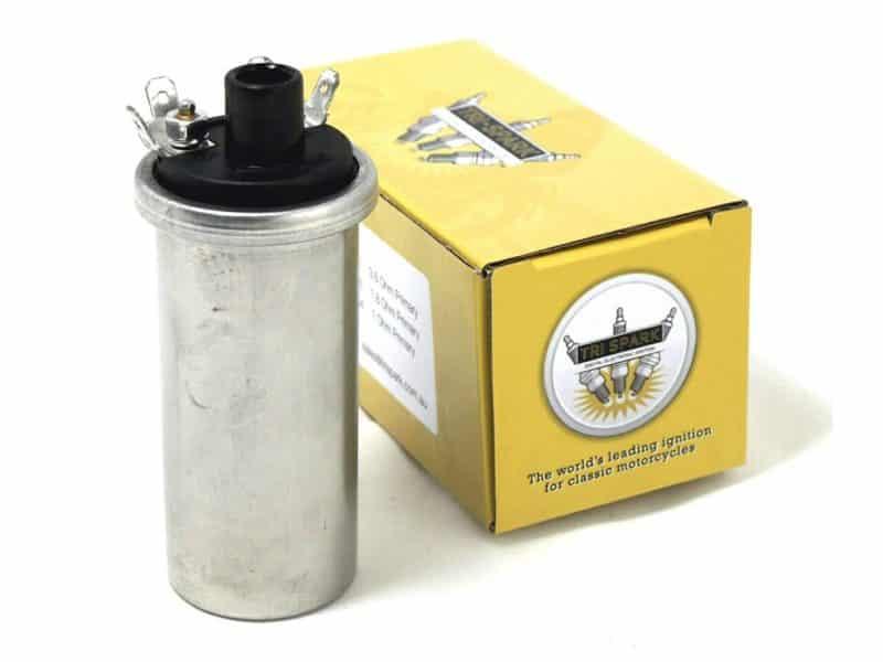 IGC-1006 Tri-Spark 6 volt ignition coil - Classic Bike Spares