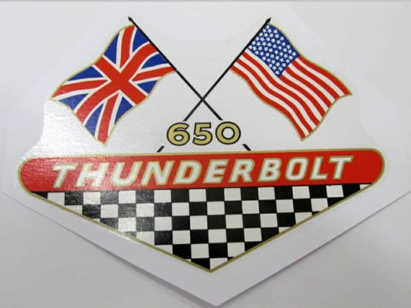 600834 BSA 650 Thunderbolt transfer - Classic Bike Spares