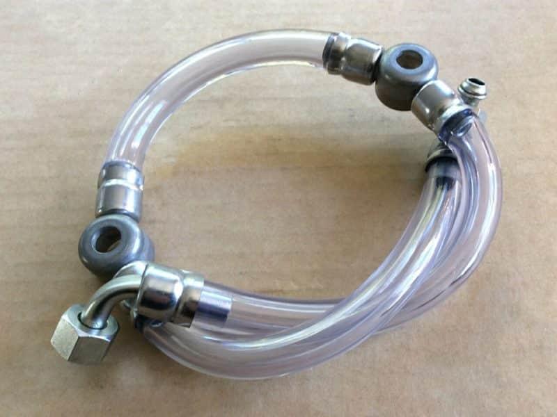 836209 Triumph T140 UK tank fuel line assembly 1973-78 - Classic Bike Spares