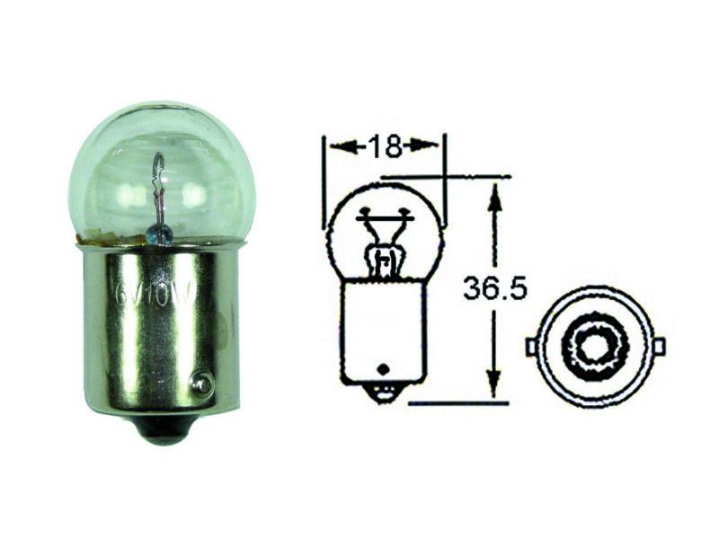 Indicator bulb 6V 10W - Classic Bike Spares