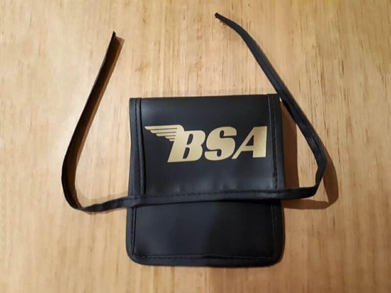BSA tool pouch - Classic Bike Spares
