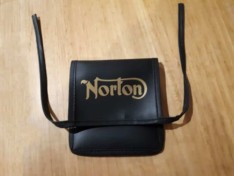 Norton tool pouch - Classic Bike Spares