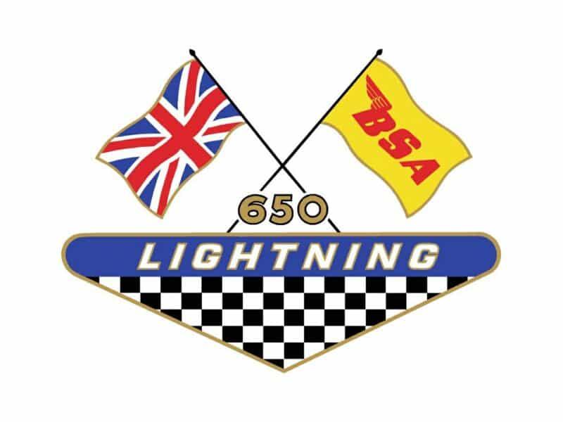 BSA A65 Lightning side cover transfer 1968 - Classic Bike Spares