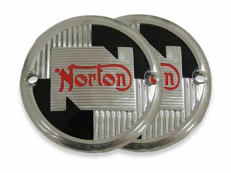 NM25217 Norton tank badges 1957-68 - Classic Bike Spares
